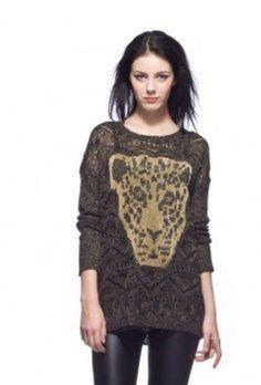 Pullover Leon Brinde = uma joia em prata,nas compras acima de R$200,00, na Leona Secrets
