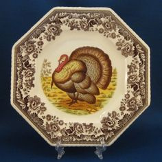 Spode Woodland Turkey