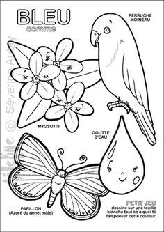 Retour à l'illustration en douceur, avec un cahier de coloriages pour les toutis rikikis : cahier découverte sur les couleurs ! Pour Hugo l'escargot, et à télécharger gratuitement , en cliquant sur la vignette... A vos crayolas ! Cliquez sur les pots...
