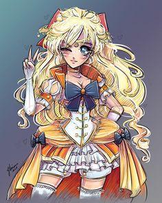Sailor Venus by NoFlutter.deviantart.com on @deviantART