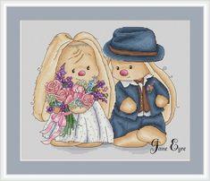 Зайки свадебные. Дизайнер: Jane Eyre
