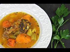 Learn how to make Caribbean beef, sweet potato and pumpkin soup with the help of Caribbean cookbook author, Chris De La Rosa. With a stunning flavor from roa. Carribean Food, Caribbean Recipes, Jamacian Food, Indian Food Recipes, Healthy Recipes, Healthy Food, Ethnic Recipes, Vegetable Stew, Island Food