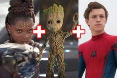 Pepper Potts, Hawkeye, and Doctor strange
