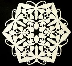 Snowflake Papercuts - quilt rat - Picasa Web Albums