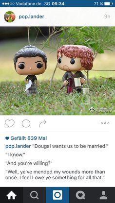 Jamie und Claire #funkopop #outlander #pop.lander