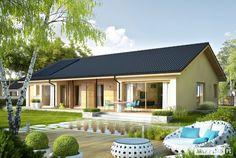 Projekty domów ARCHIPELAG - Eryk IV G1 ECONOMIC