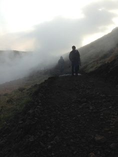 """Iceland's """"Smoky Valley"""" is a beautiful river that is shrouded in a constant cover of steam clouds"""