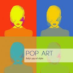 This weekend we remembered Andy Warhol's birthday., now we'll keep the celebration going with a new Pop-art Style Pack available in the PhodoDonut Shop.