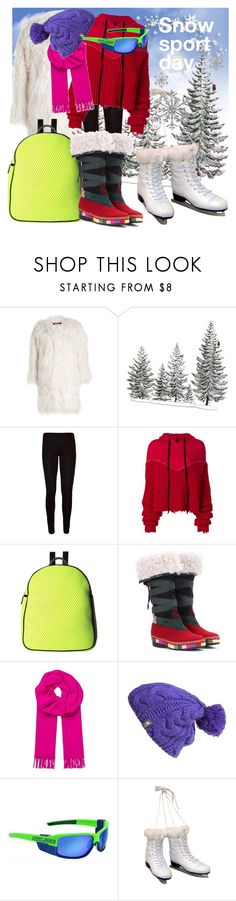 """Snow Sports"" by drahuschka ❤ liked on Polyvore featuring Zadig & Voltaire, WearAll, Unravel, Sol & Selene, Etro, A.L.C., The North Face and Kurt Adler"