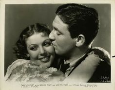 Loretta Young and Spencer Tracy