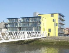 Offering fantastic views of the Thames for an affordable price, The Riverside Building hosts 22 offices in a modular design. Erected near Container City, the structure took a mere eight days (and 73 containers!).