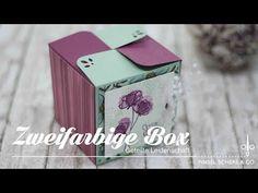 Zweifarbige Box