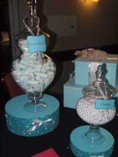 Bridal Show Bridal Show Tiffany E Co, Tiffany Blue Party, Tiffany Birthday Party, Tiffany Theme, Breakfast At Tiffanys Party Ideas, Tiffany Baby Showers, Bar A Bonbon, Tiffany's Bridal, Sweet 16 Parties
