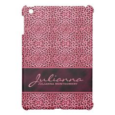 Pink Cheetah Print Custom Tablet iPad Mini Cover you will get best price offer lowest prices or diccount couponeThis Deals          	Pink Cheetah Print Custom Tablet iPad Mini Cover please follow the link to see fully reviews...