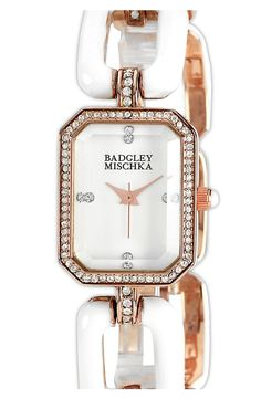 Badgley Mischka Square Bracelet Watch by nordstrom