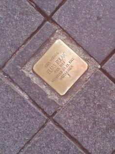 Struikelsteen, Elias Polak Platielstraat 14 Maastricht, Zuid-Limburg. Murder Stories, Holland, Angels, History, The Nederlands, Historia, Angel, The Netherlands, Netherlands