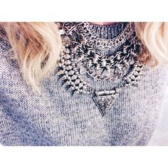 Just Wing It Necklace #heyclaire #jewelry #layering #necklaces #markkit