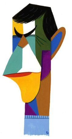 Leonard Nimoy by David Cowles
