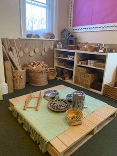 Reggio Classroom, Infant Classroom, Classroom Design, Classroom Displays, Classroom Organization, Classroom Decor, Montessori Activities, Activities For Kids, Preschool Block Area