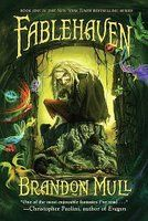 """Percy Jackson"" fans - check out ""Fablehaven"". For centuries mystical creatures of all description were gathered into a hidden refuge called Fablehaven to prevent their extinction. The sanctuary survives today as one of the last strongholds of true magic.  Kendra and her brother, Seth, have no idea that their grandfather is the current caretaker of Fablehaven."