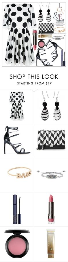 """Polka dot fashion"" by camry-brynn ❤ liked on Polyvore featuring Dolce&Gabbana, ASOS, Stuart Weitzman, Michael Kors, ZoÃ« Chicco, Kendra Scott, LORAC, MAC Cosmetics and Xen-Tan"