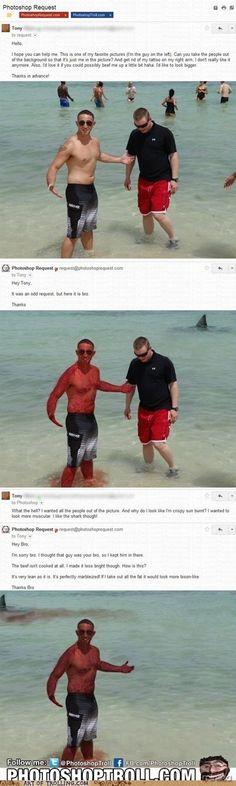 Photoshop troll...