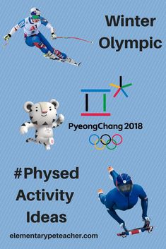 Winter Olympic Physed Activity Ideas