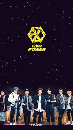 """EXO POWER"" Homework/Lockscreen Wallpaper 2"