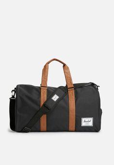 Novel duffle-black/tan Herschel Supply Co. Bags | Superbalist.com