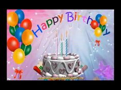 This is a gif file. The gif does not have sound. Use this gif file to upload to social media sites when it is your family or friends birthday! Animated Happy Birthday Wishes, Happy Birthday Greetings Friends, Happy Birthday Wishes Photos, Birthday Wishes For Kids, Happy Birthday Frame, Happy Birthday Video, Happy Birthday Celebration, Happy Birthday Candles, Happy Birthday Gifts