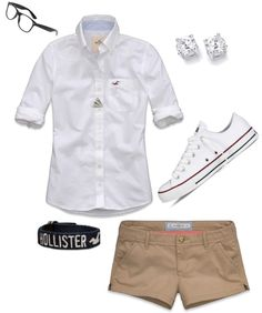 """""""Simple school outfit..."""" by mrs-morales-cruz ❤ liked on Polyvore"""