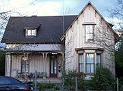 Carpenter Gothic - Peters-Liston-Wintermeier House-Eugene, Oregon