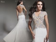 Halter Prom Dress 2013 Stunning Formal Evening Gown Beaded ...