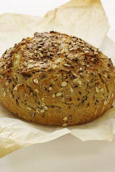 Cinco Quartos de Laranja: Vamos fazer pão: Pão com sementes