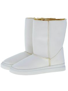 Everest Air Neo-White Adele boots. Scuba Neoprene Fabric, faux-fur lining, warm and comfort guaranteed.