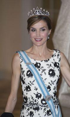 Queen Letizia debuts diamond tiara, a gift from King Philipe 10 years ago www.diamonds.pro