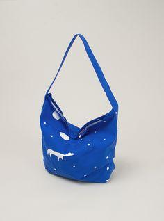 Star Trip Cotton Shoulder Bag