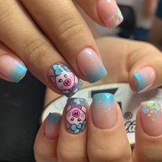 Coffen Nails, Nail Salon Design, Manicure And Pedicure, Nail Art, Beauty, Instagram, Gel Nail, Toe Nail Art, White Nail Polish