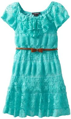My Michelle Girls 7-16 Lace Belted Dress, Mint-2, 8 My Michelle,http://www.amazon.com/dp/B00BXDX604/ref=cm_sw_r_pi_dp_J5j7rb0QB2F0SR3M