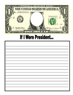 Presidents' Day  FREE writing paper!