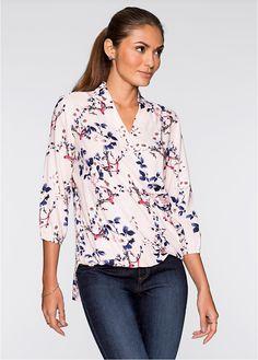 Çiçek Desenli Bluz lacivert çiçekli - BODYFLIRT ?imdi bonprix.com.tr Online shop'ta ba?liyan 89,99 TL sipari? Kruvaze görünümü ile dikkat çeken çiçek ...