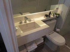 Leilão de Pedra, cuba esculpida com acabamento para tornei | SOLD Bathroom Storage, Small Bathroom, Minimalist Home, Girls Bedroom, Sink, House Design, Carrara, Home Decor, Stone Bathroom