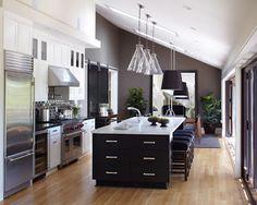 5 Cocinas en Blanco y Negro | Decorar tu casa es facilisimo.com