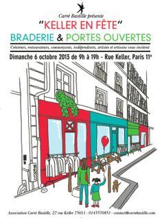 Keller en fête Bastille, Paris 11e, Rue, Bar Chart, Bar Graphs