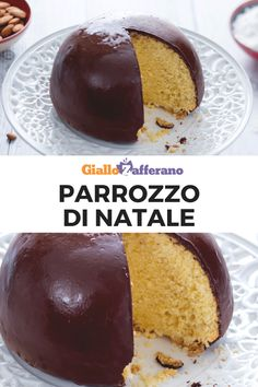 Parrozzo Parrozzo: discover the recipe for the traditional Abruzzo almond cake covered with chocolate, typical of Christmas celebrations. Italian Biscuits, Italian Cookies, Sweets Recipes, Cake Recipes, Desserts, Pandan Cake, Torte Cake, Christmas Lunch, Cake Cover