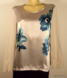 Charter Club Womens Tops Combo Tee Shirt Blouse Size XL Gorgeous   $19.99