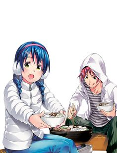 Shokugeki no Soma || Megumi and Soma