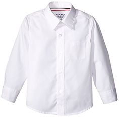 French Toast Little Boys Toddler Long Sleeve Poplin Dress Shirt White 3T -- More info could be found at the image url.Note:It is affiliate link to Amazon. #followbackteam