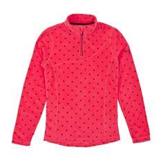 Roxy Cascade Printed Girl Polar Fleece - Diva Pink | Free Delivery