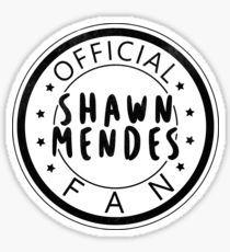 Official Shawn Mendes Fan Sticker